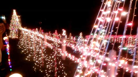 clayton nc light display youtube