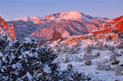Garden Of The Gods Winter by Winter S Garden Garden Of The Gods Colorado Stan