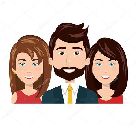 imagenes vectoriales personas dibujos animados de personas recursos humanos del grupo