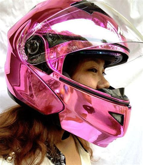 Motorradhelm Pink Damen by Masei Pink Women Motorcycle Racing Helmets Top Abs Open