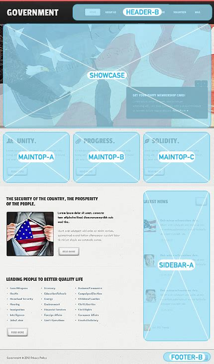 free templates for government website government joomla template web design templates website