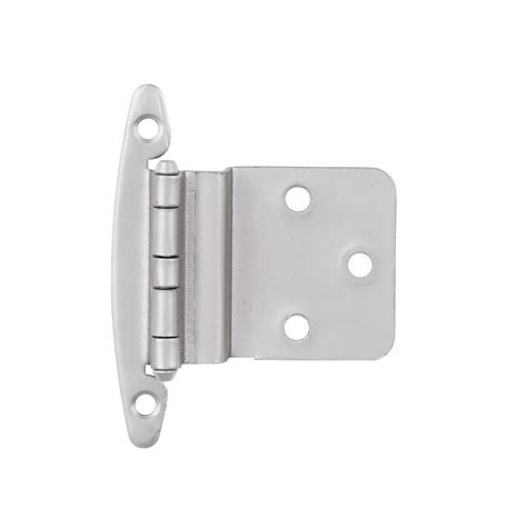 Kitchen Cabinet Door Hinges Home Depot by Amerock Satin Nickel Mount Self Closing 3 Bp762926