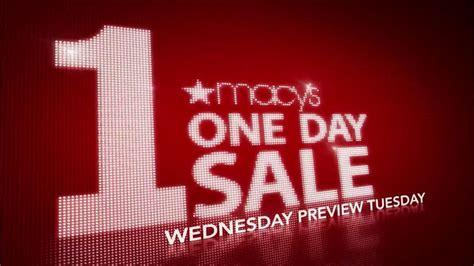 Macys Sale by Macy S 1 Day Sale Tv Commercial Ispot Tv