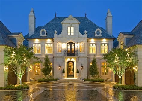 french chateau style home in stucco cast stone mansion 2 vision board pinterest stone facade