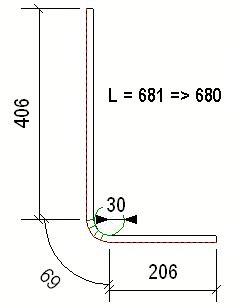 Blech Biegen Länge Berechnen by So Berechnen Sie Die L 228 Nge Des Bewehrungsstabs Tekla