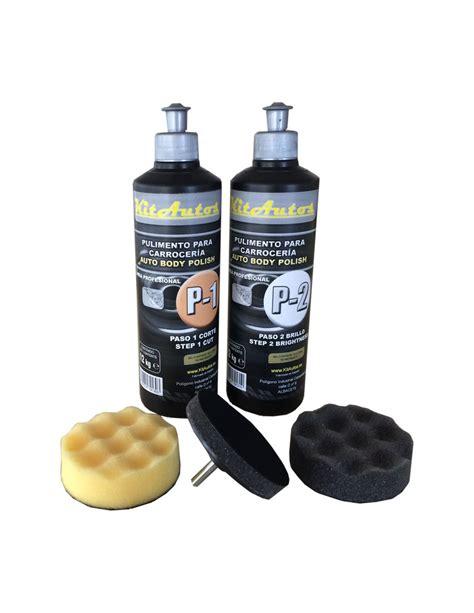 pulir carroceria pulimento para carroceria 2x1 2 kilo y utiles de pulido