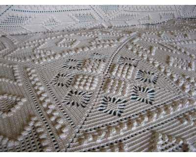 Copriletti Sardi by Copriletto Uncinetto Crochet Bedcover Uncinetto