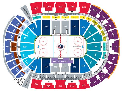 Nationwide Arena Box Office by Nationwide Arena Seating Chart Images