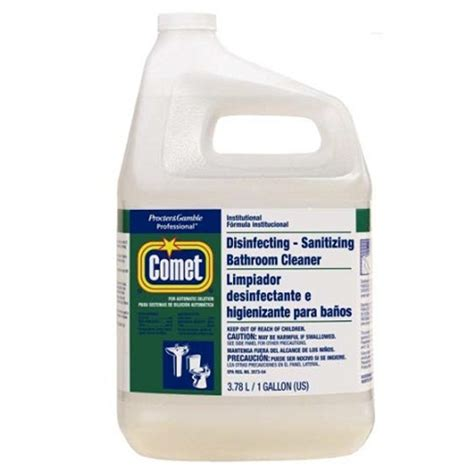 comet bathroom cleaner msds comet disinfecting bathroom cleaner pgc 22570 gallon bottles d orazio cleaning