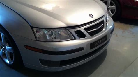 saab 9 3 bumper and headlight removal
