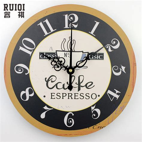 design home decor wall clock fashion coffee wall clocks absolutely silent wall clock