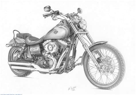 Harley Davidson Drawings by Harley Motorcycle Sketch Widescreen 2 Hd Wallpapers