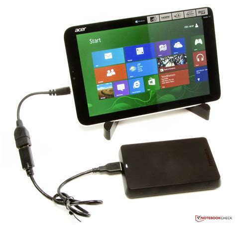 Harddisk External Acer review acer iconia w3 810 27602g03nsw tablet notebookcheck net reviews