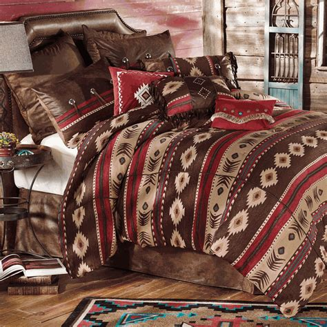 southwestern bedding rustic bedding desert horizon southwest bedding collection black forest decor