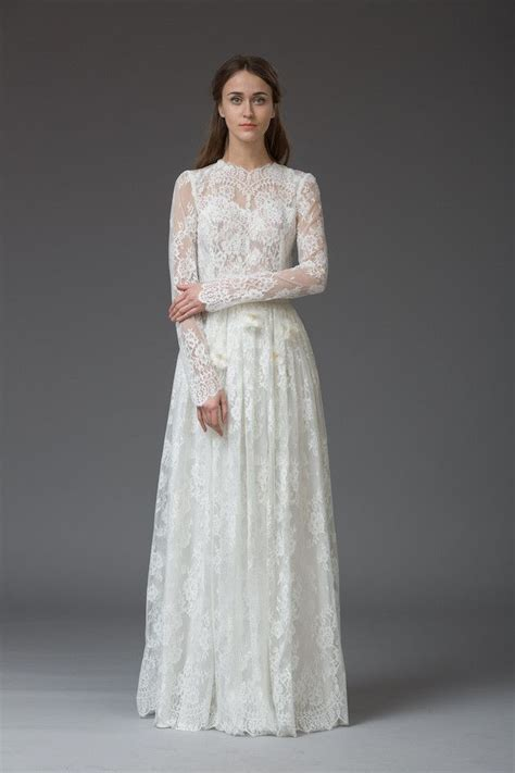 438 best images about long sleeved wedding dresses on