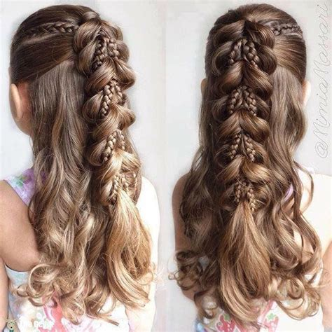 how to do fancy hairstyles for kids 25 best ideas about little girl braid hairstyles on