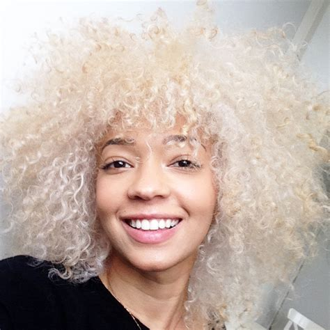 bleached afro hair images cheveux mercredie
