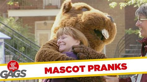 Best Mascot Pranks   Best of Just For Laughs Gags   Doovi