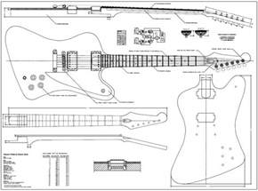 firebird guitar body template guitar projects
