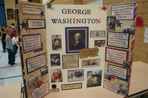 george washington biography for middle school students what the teacher wants wax museum