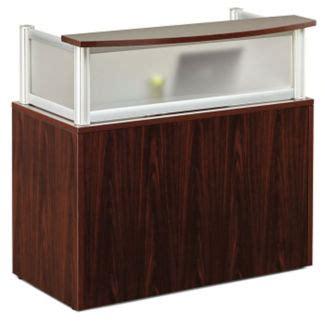 mobile reception desk l shaped reception desk with mobile pedestal d35262 and