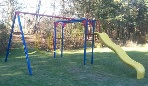 swing sets ma liftetime monkey bar adventure swing set assembly canton