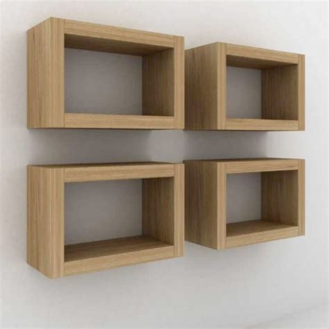 floating box shelves from wood empire floating shelves