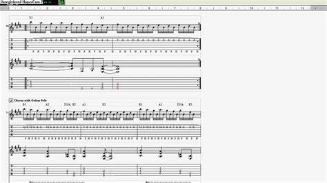 thunderstruck tab - YouTube Ac Dc Thunderstruck Guitar Tabs