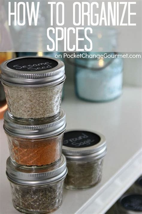 how to organize spice 3038 best images about organizing on pinterest diy