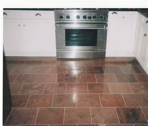 best tile for kitchen best floor tile for small kitchen thefloors co