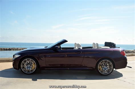 purple convertible bmw m4 convertible purple silk supercars all day