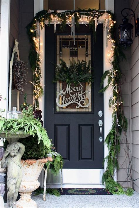 door decorations top 40 christmas door decoration ideas from pinterest