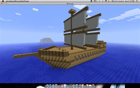 how to build a boat in minecraft xbox 360 minecraft pirate ship by snuffbomb on deviantart