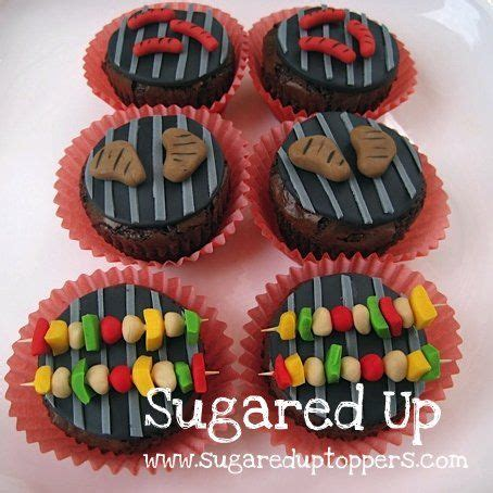 fathers day cupcakes s day cupcakes backyard bbq cookout