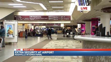 security at nashville international airport has