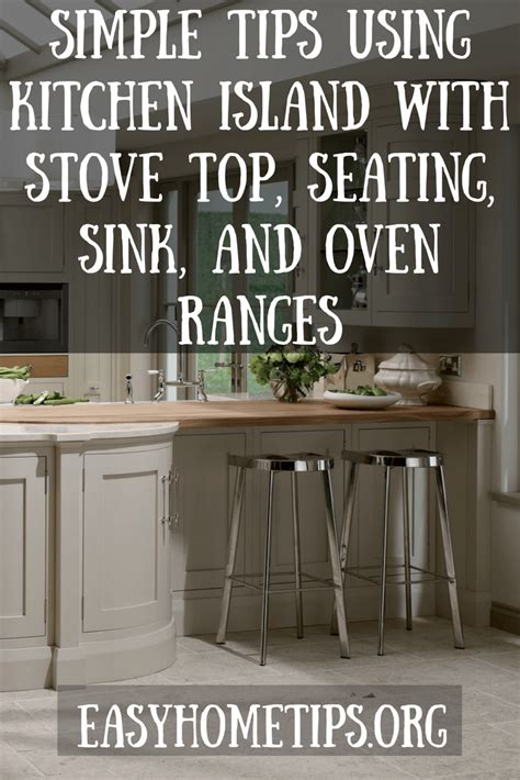 kitchen island with stove and sink kitchen island with stove top seating sink and oven ranges