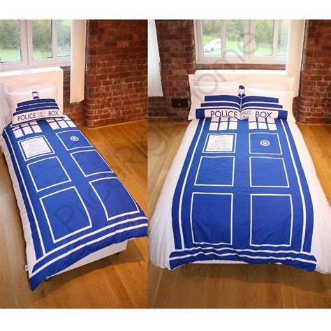 doctor who comforter set dr who tardis duvet cover sets available in single