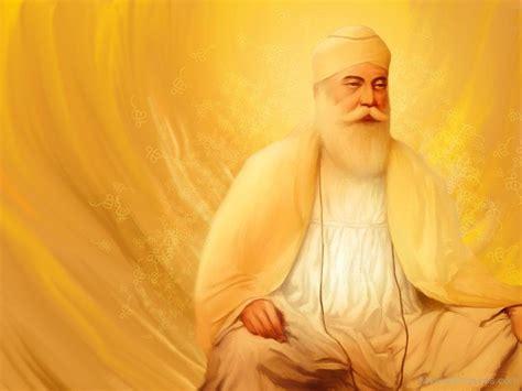 guru nanak dev ji god pictures