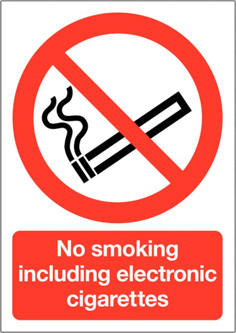 no smoking sign e cigarettes no smoking including electronic cigarettes signs seton uk