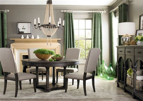 bassett dining room furniture emporium round dining table by bassett furniture