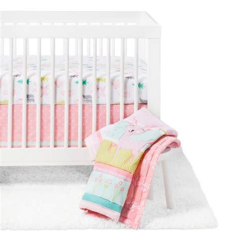 target nursery bedding sets crib bedding set forest frolic 4pc cloud island pink target