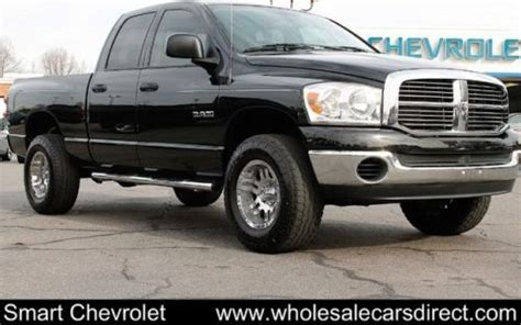 sell used 2008 dodge ram 1500 4wd quad cab trucks 6 speed manual 4x4 pickup trucks autos in
