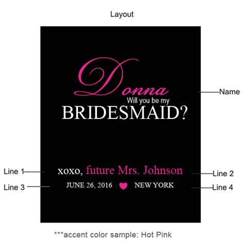 will you be my bridesmaid wine label template will you be my bridesmaid personalized wine labels 6 pcs
