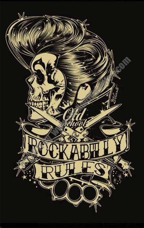 tattoo flash rules rockabilly rules skull pinterest rockabilly rules