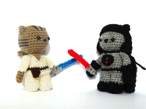 amigurumi lightsaber pattern jedi cat sith cat amigurumi patterns