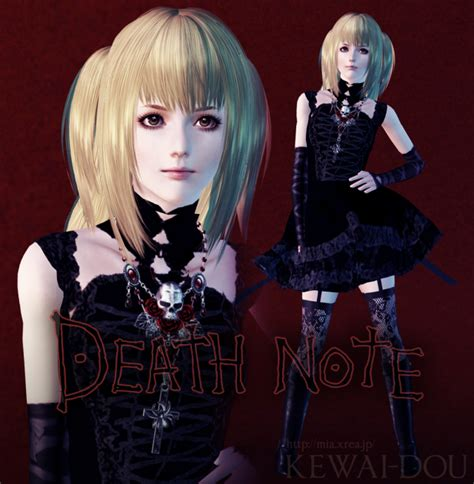 sims 3 anime hair sims 3 anime finds misa amane hair by gen so ron sims