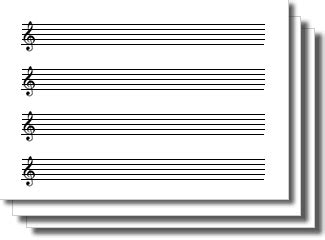 buy blank sheet music pdf print posters on wallpart