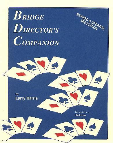 a director s companion books bridge director s companion
