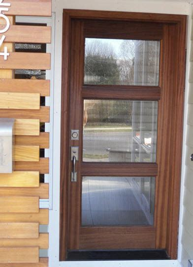 Wooden Exterior Doors With Glass Wood And Glass Entry Door Modern Front Doors Other Metro By M4l Inc