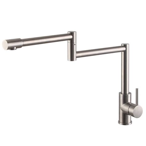 Stainless Steel Pot Filler Faucet by Kes L6450 Sus304 Stainless Steel Pot Filler Faucet Lead